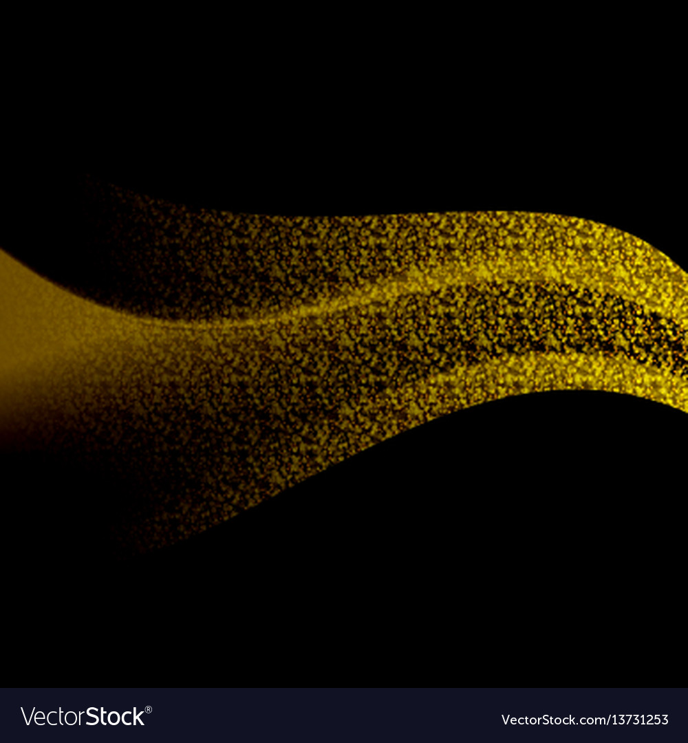 Abstract gold luxury liquid background vector image