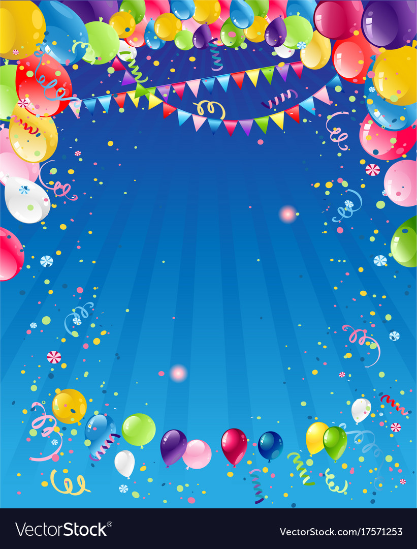 birthday background images Blue birthday background Royalty Free Vector Image birthday background images