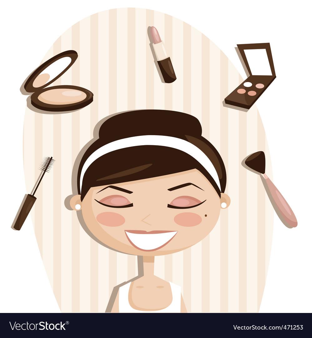 Makeup cartoons