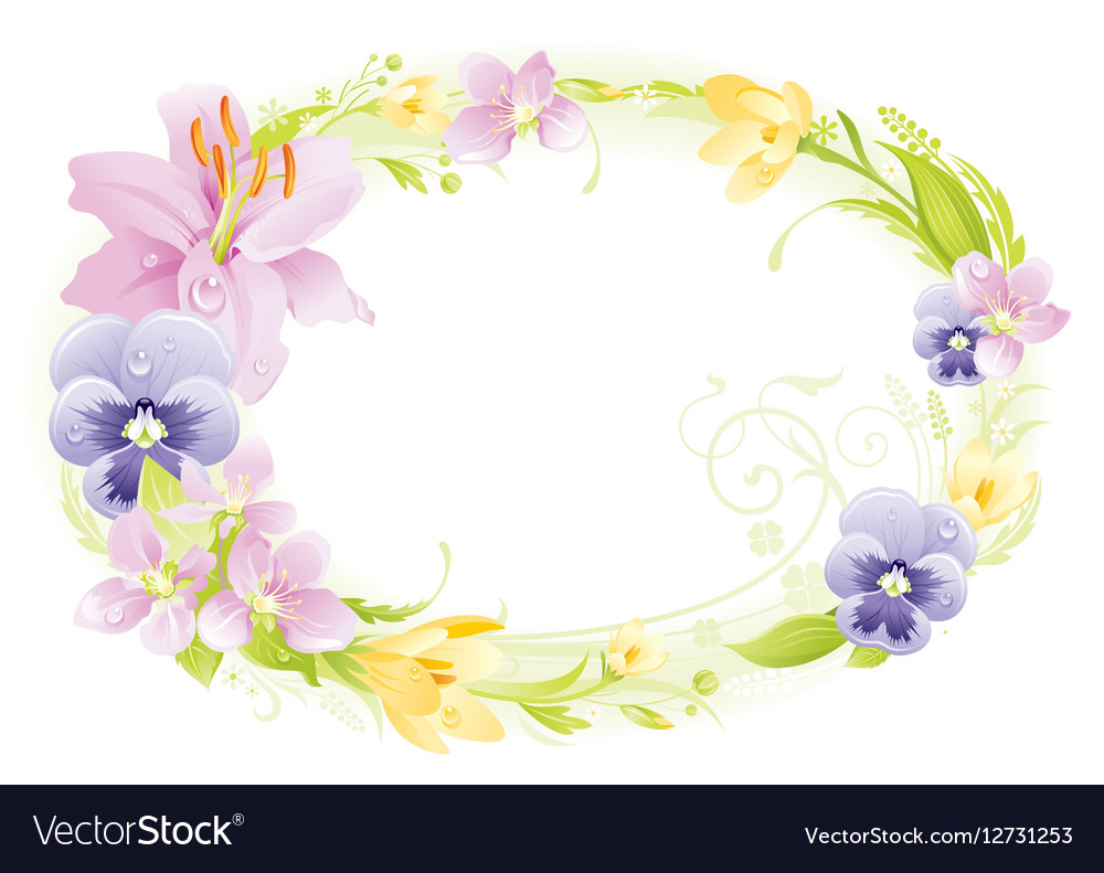 Spring white background Easter Mothers day