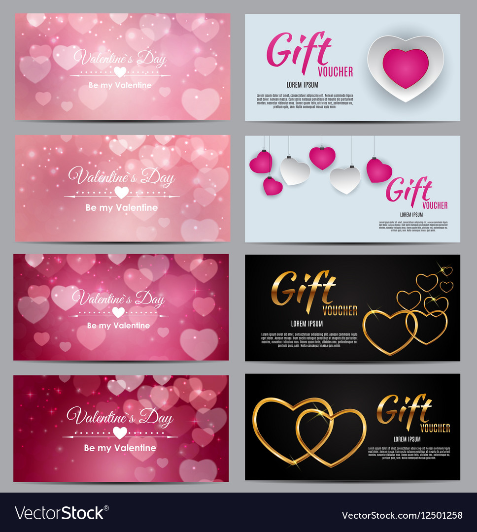 Gift Voucher Template For Your Business Valentine