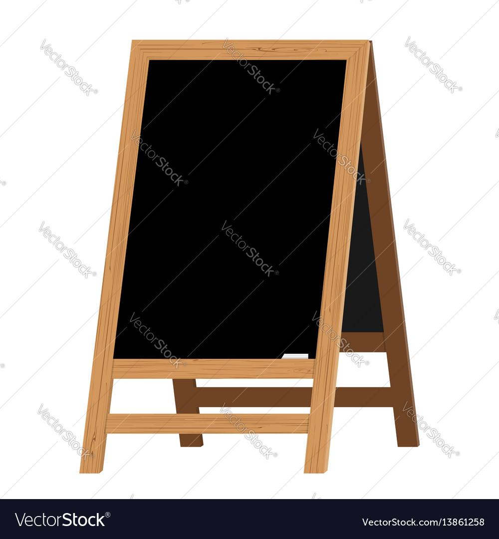 Menu black board