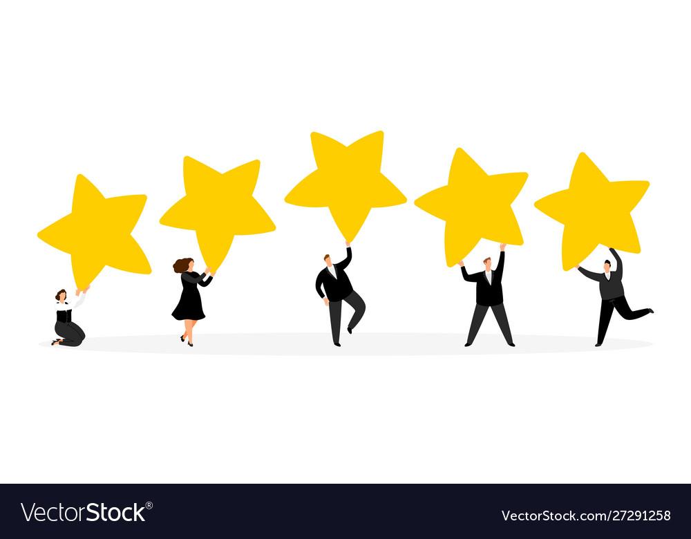 Review feedback ranging