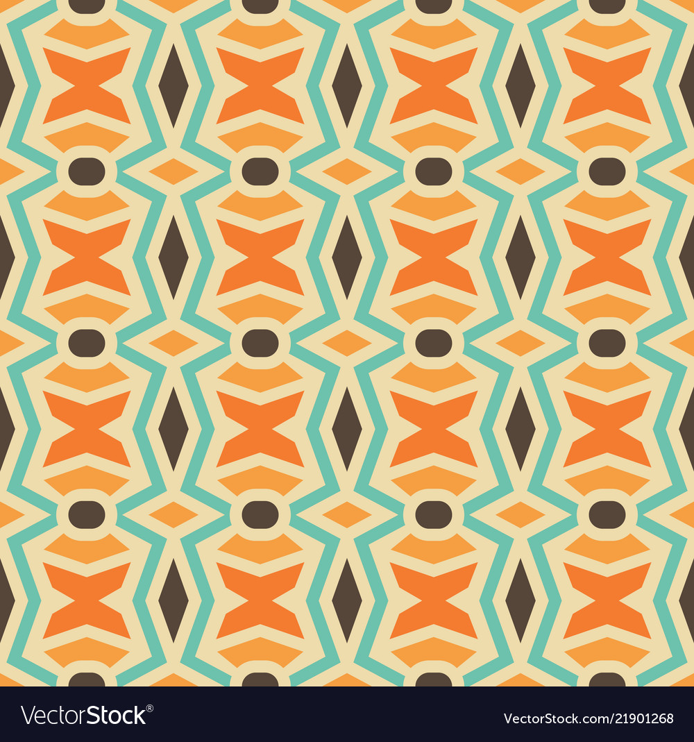 Seamless element of mosaic