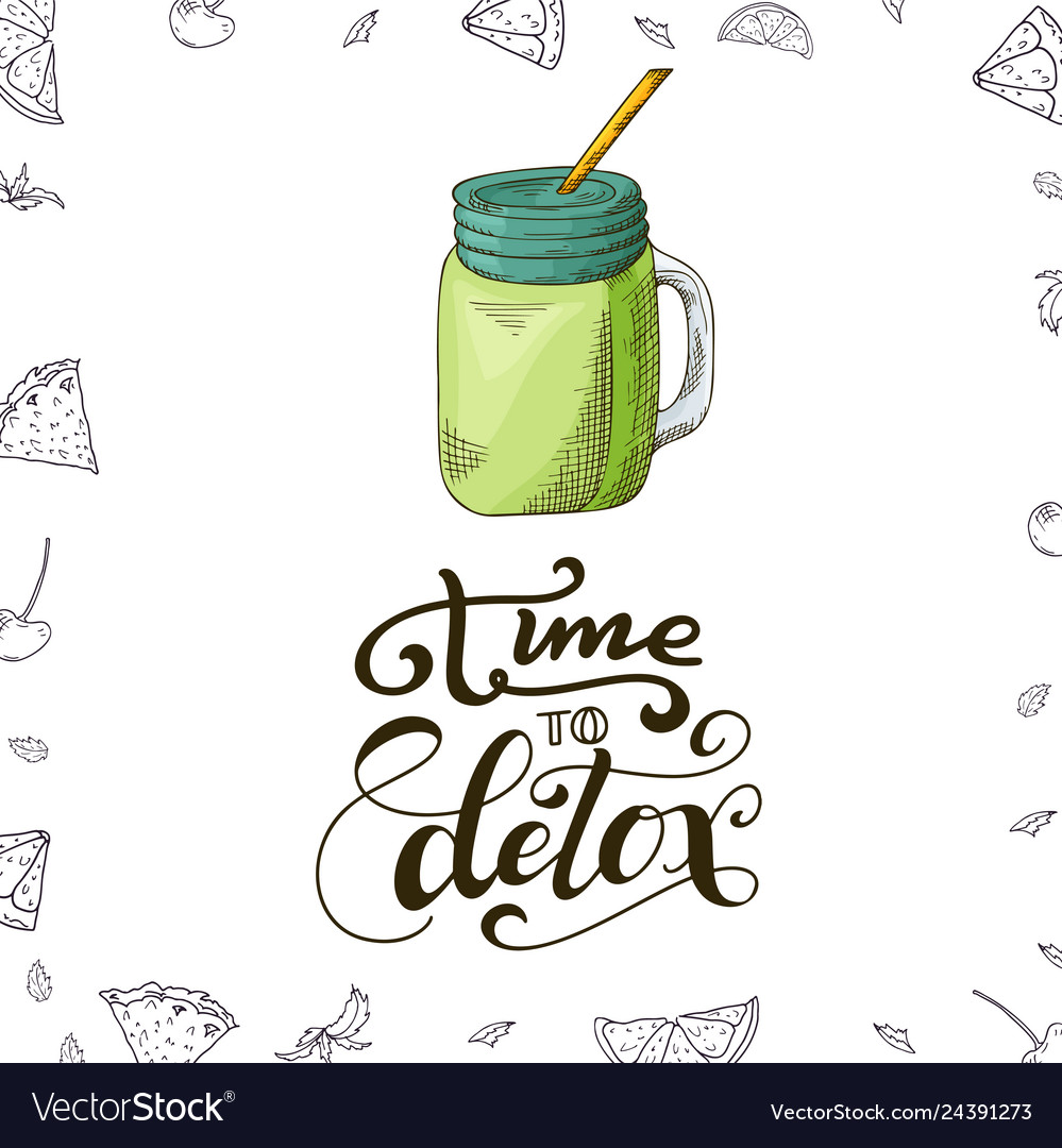 Fresh drink menu template design banner with