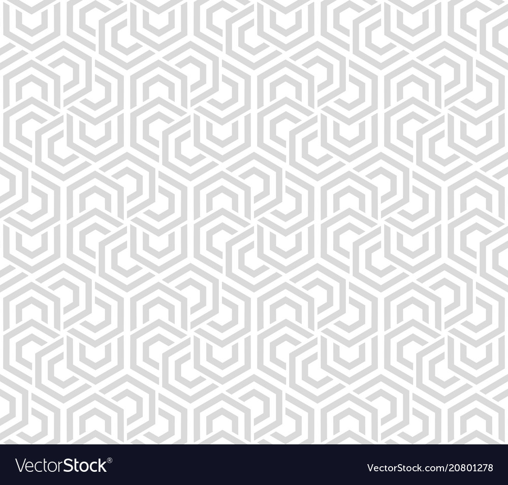 Abstract geometric background gray and white vector image