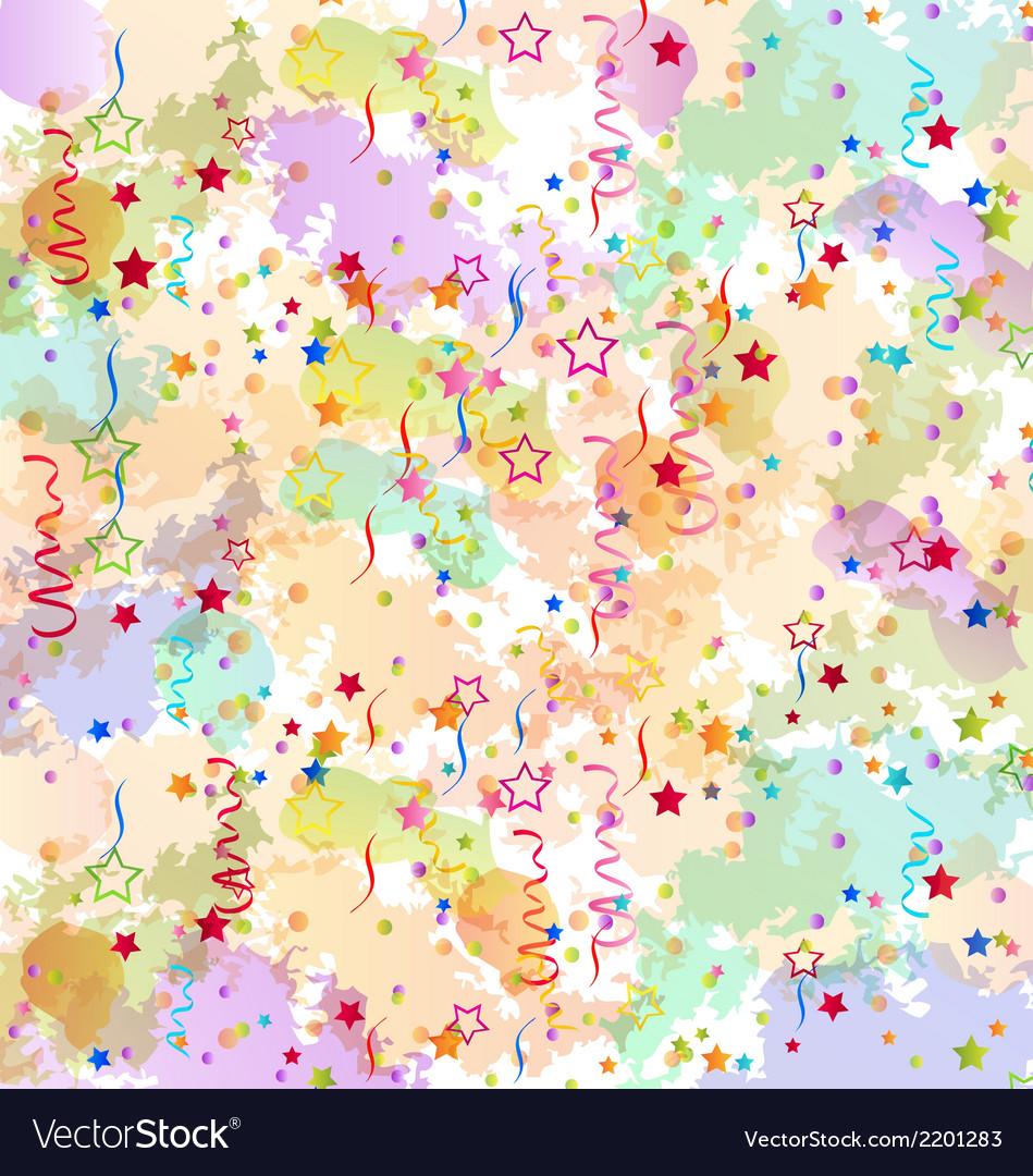 Confetti holiday background grunge colorful