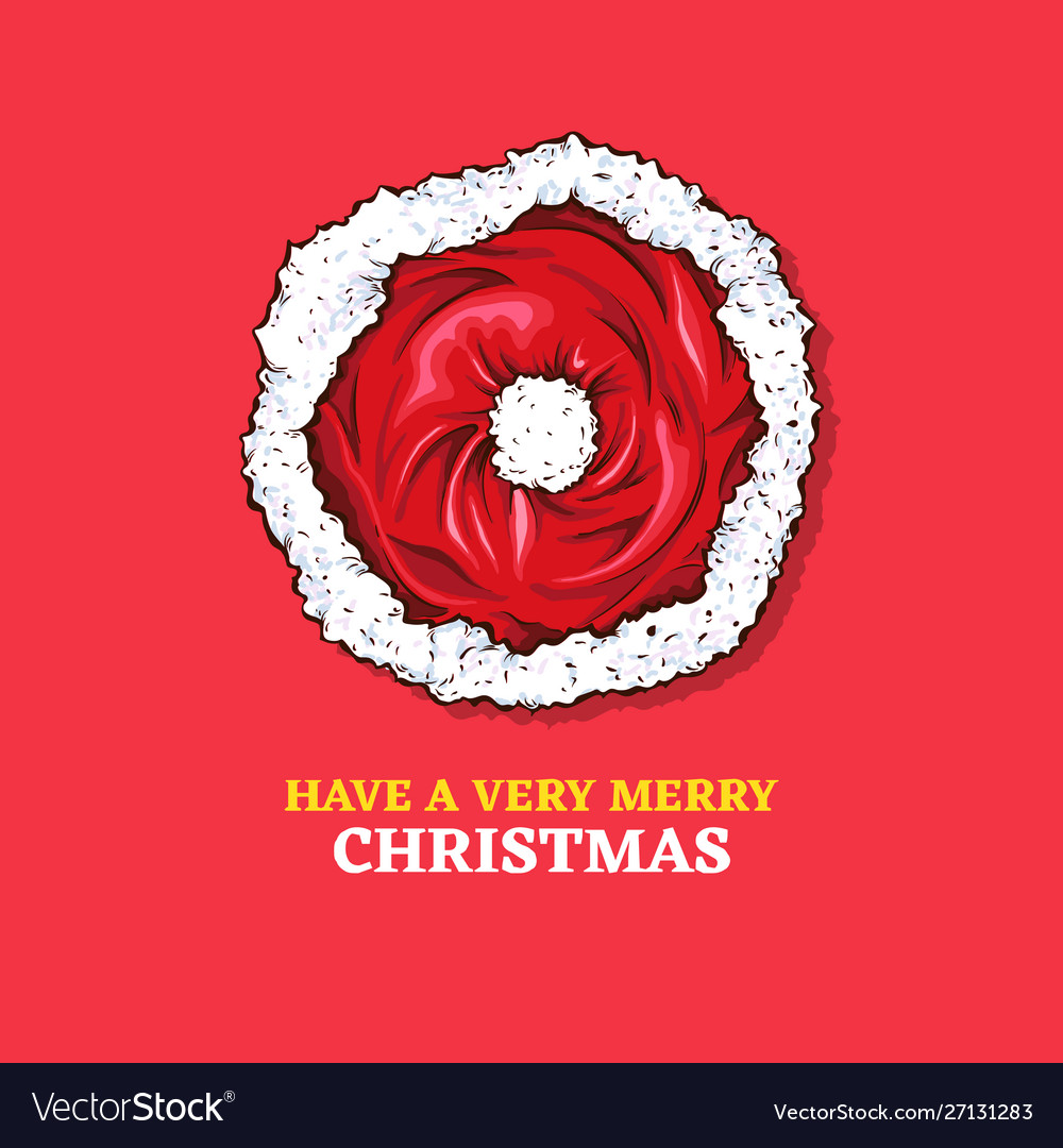 Merry christmas 2020 greeting card color template