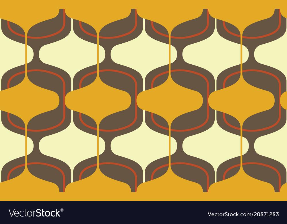 Vintage seamless background retro pattern