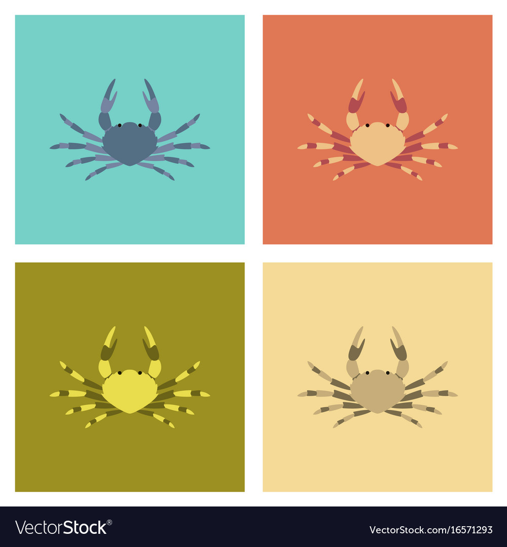 Assembly flat animal crab