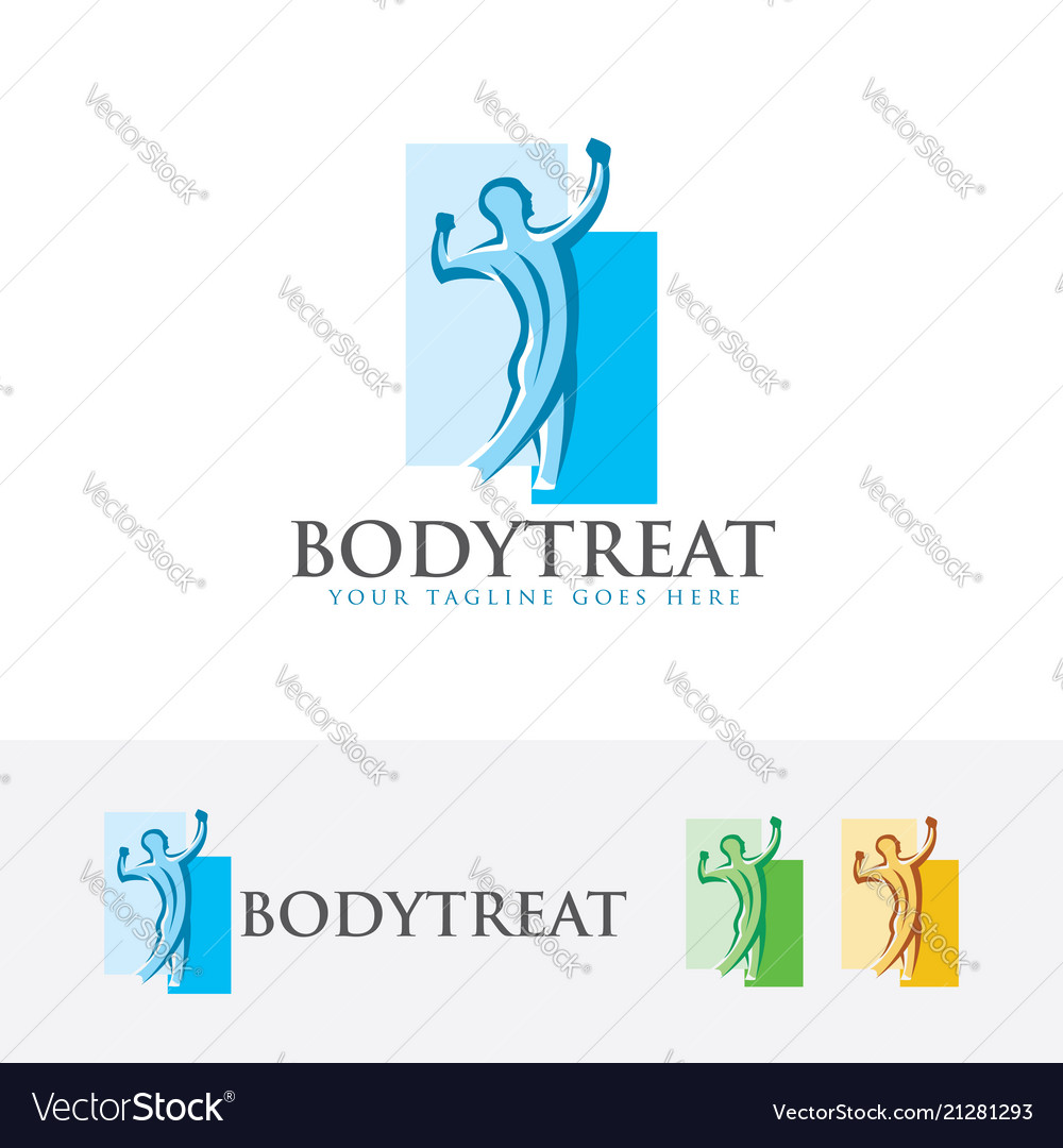 Body treat logo design