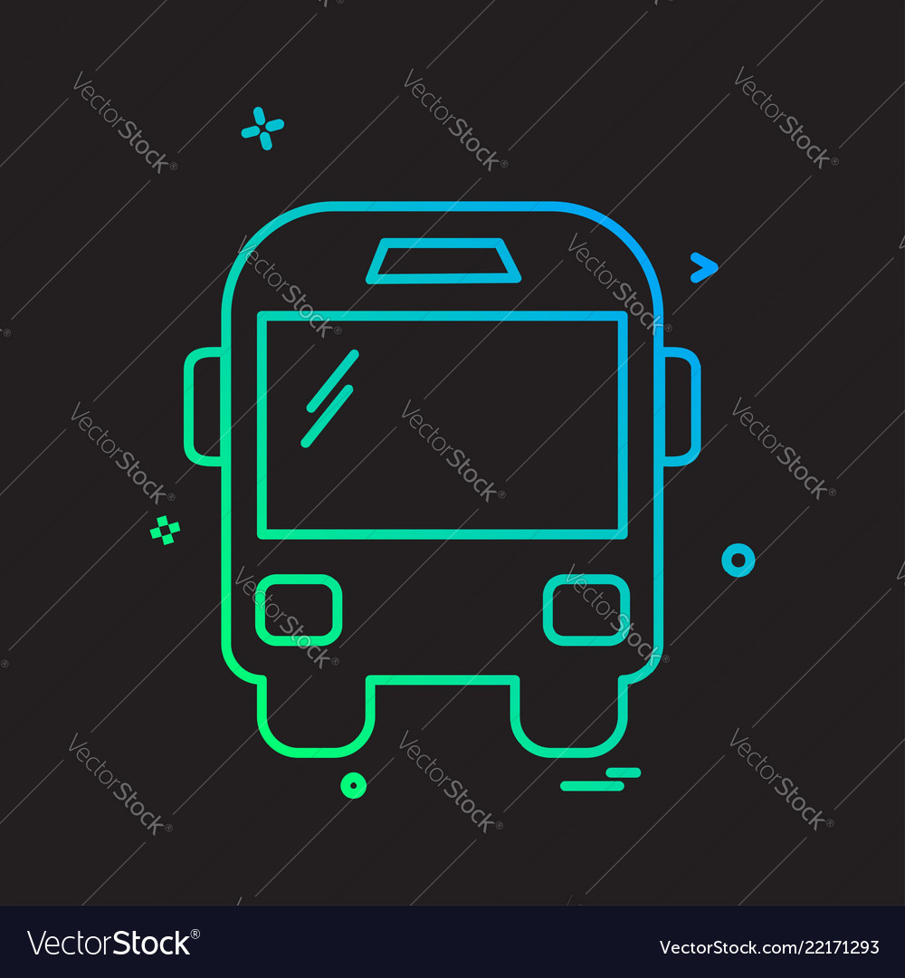 Transport icon design Royalty Free Vector Image