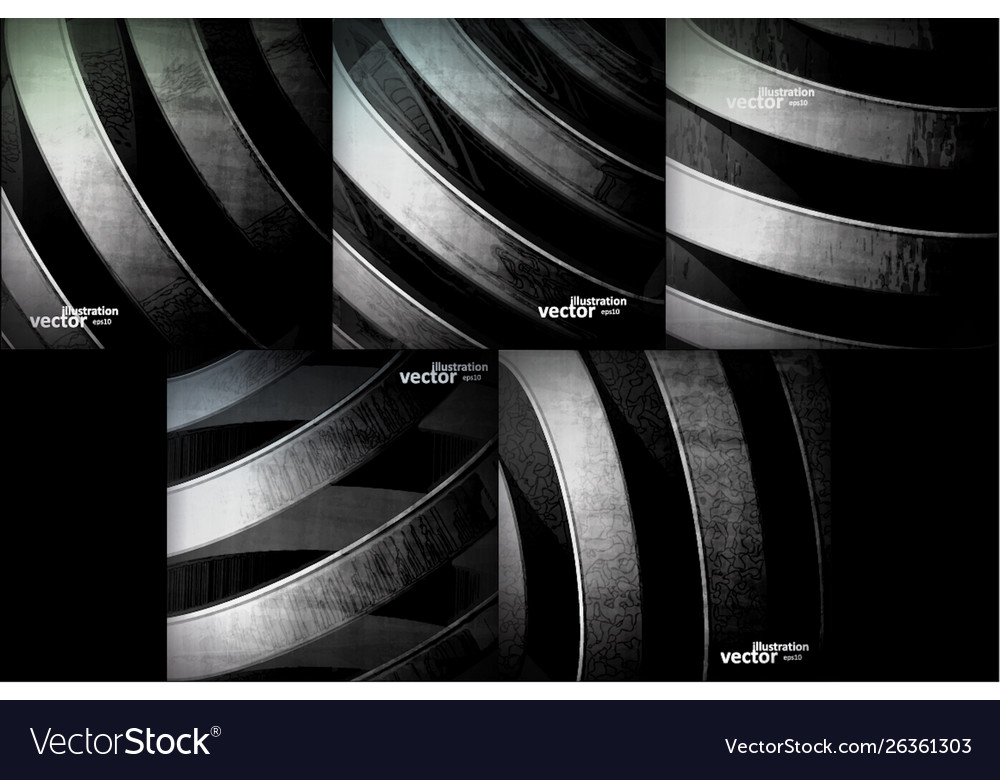 Abstract dynamic metal