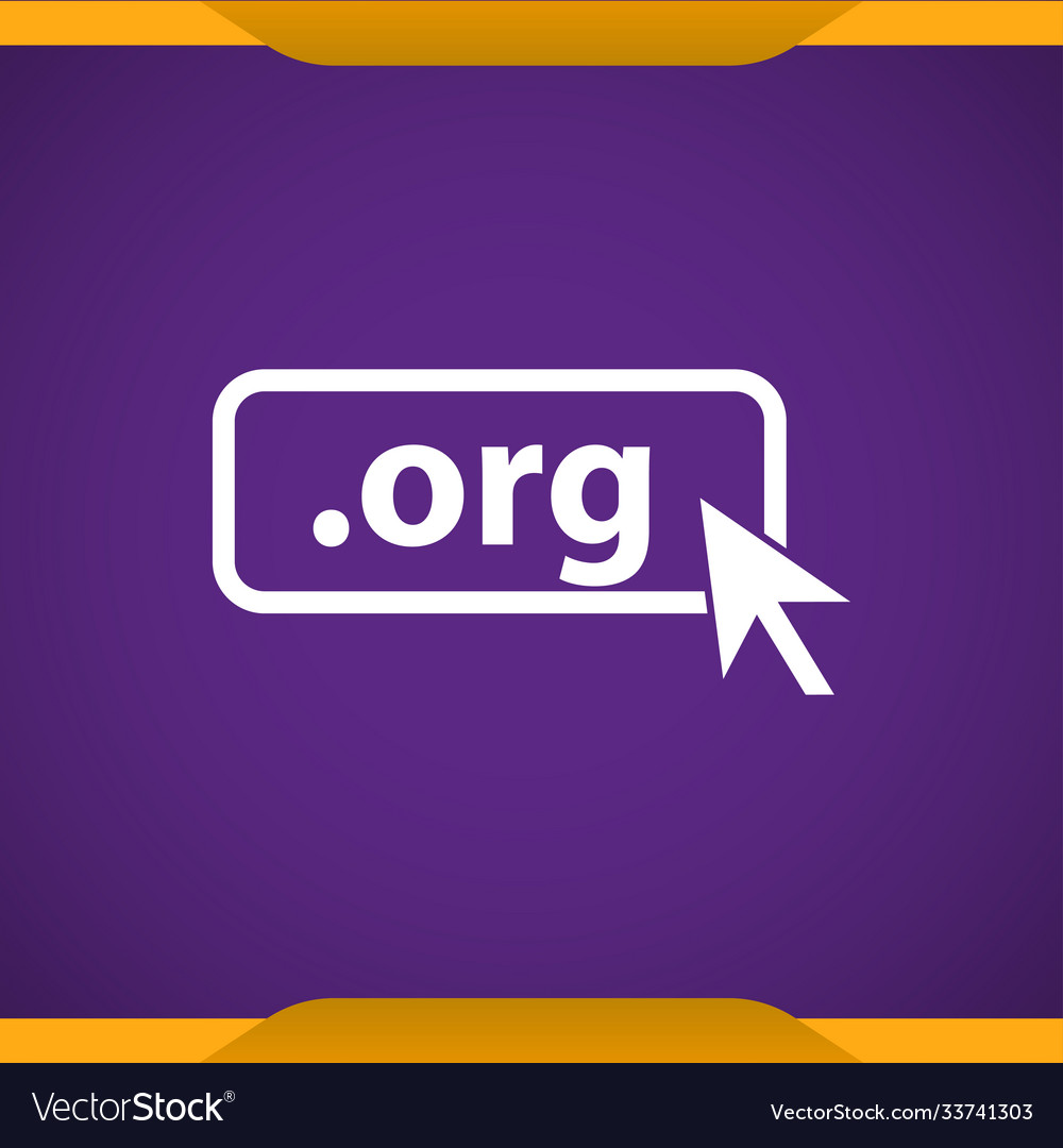 Domain org icon top-level internet