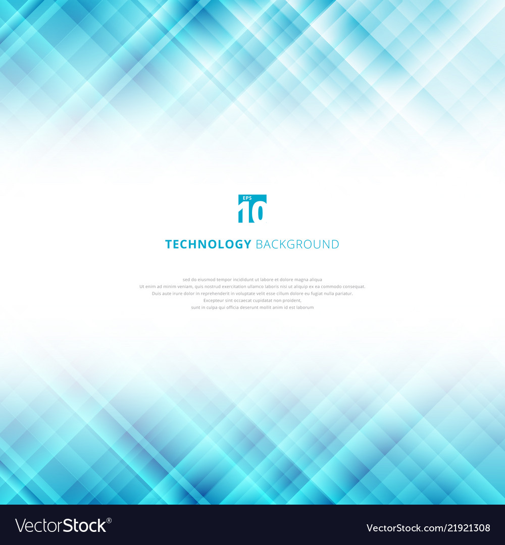 Abstract light blue technology background with