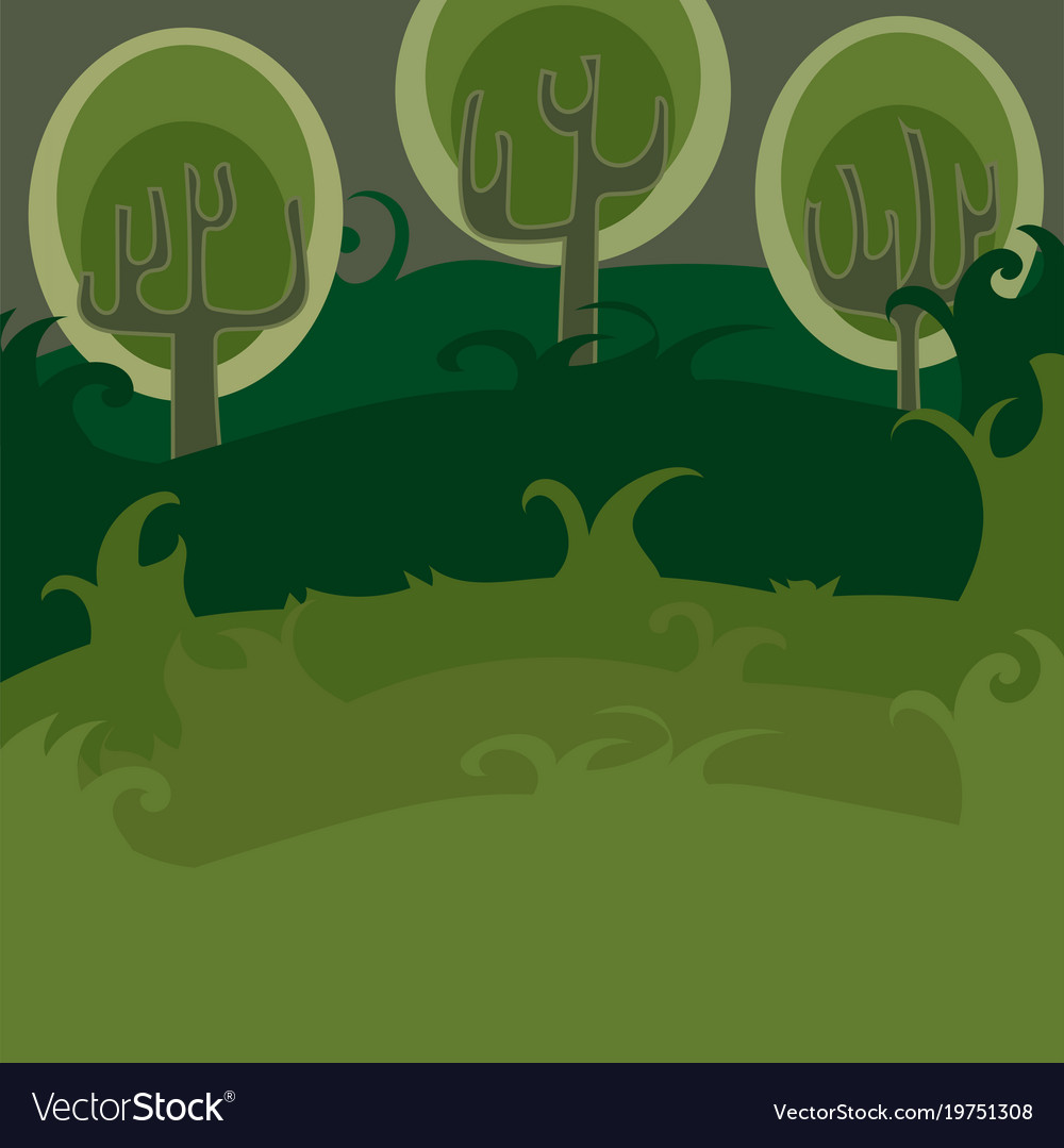 Forest of magic trees