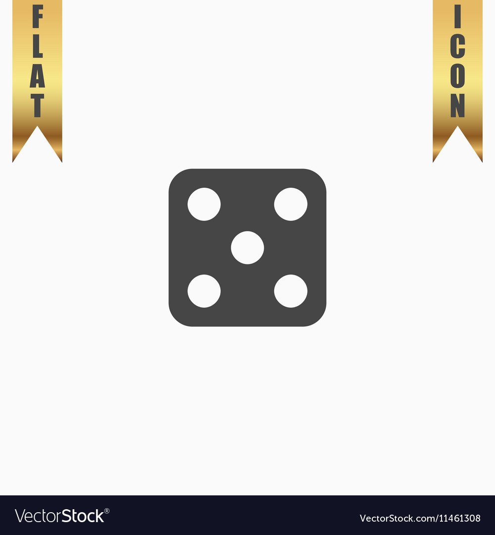 One dices - side with 5
