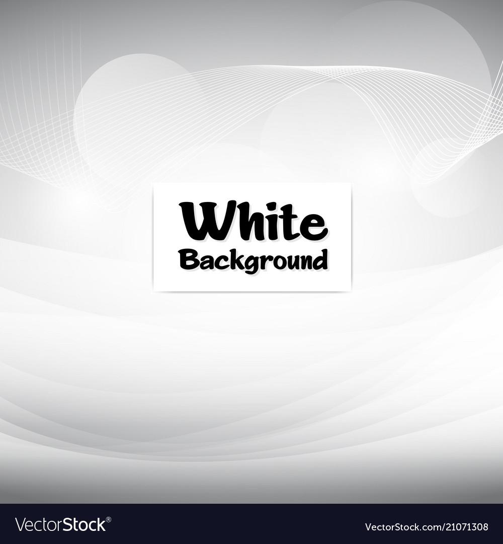 Smooth modern white soft background image