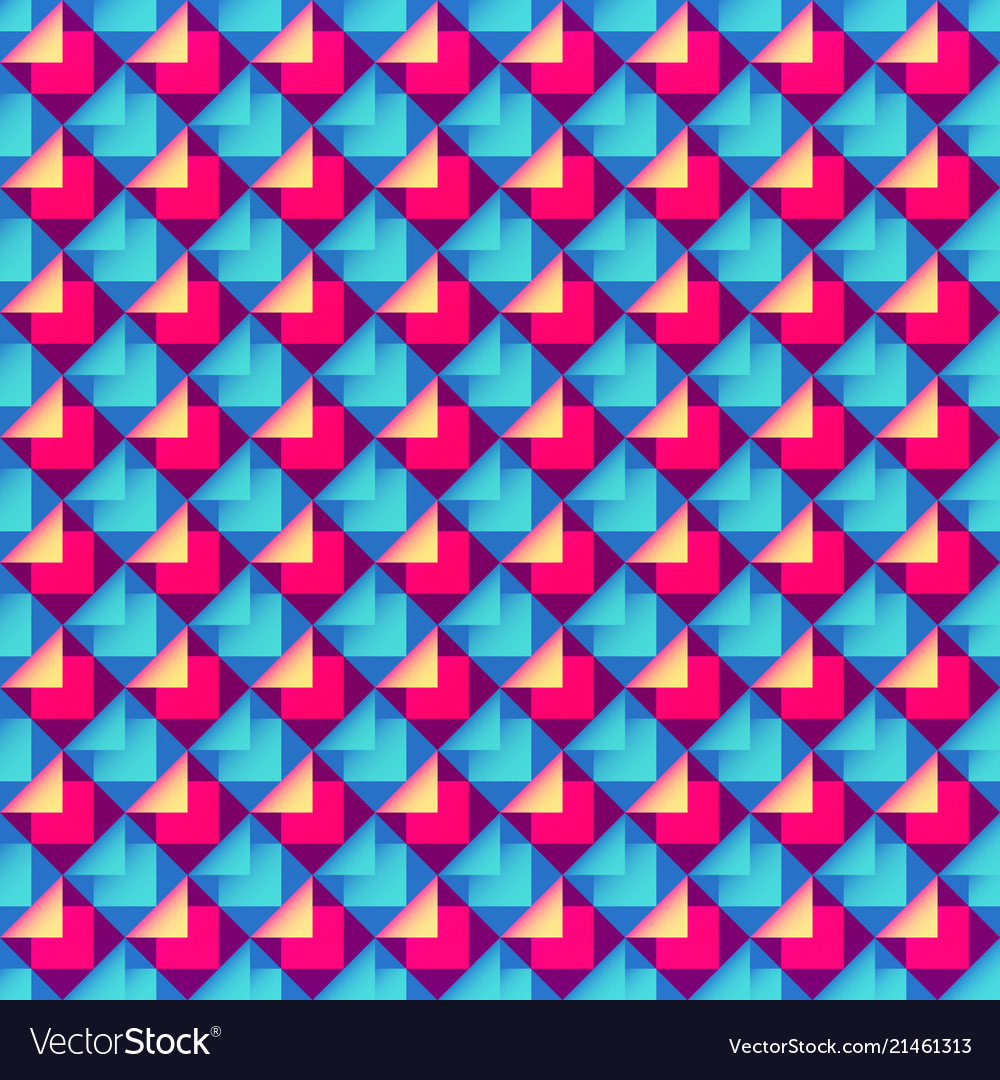 Abstract bright geometric pattern