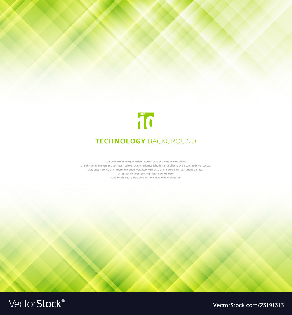 Abstract Light Green Technology Background With