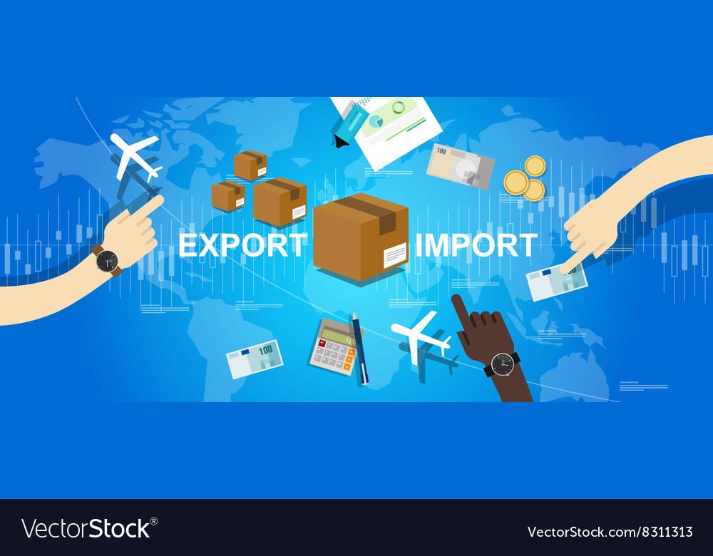 import export international trade