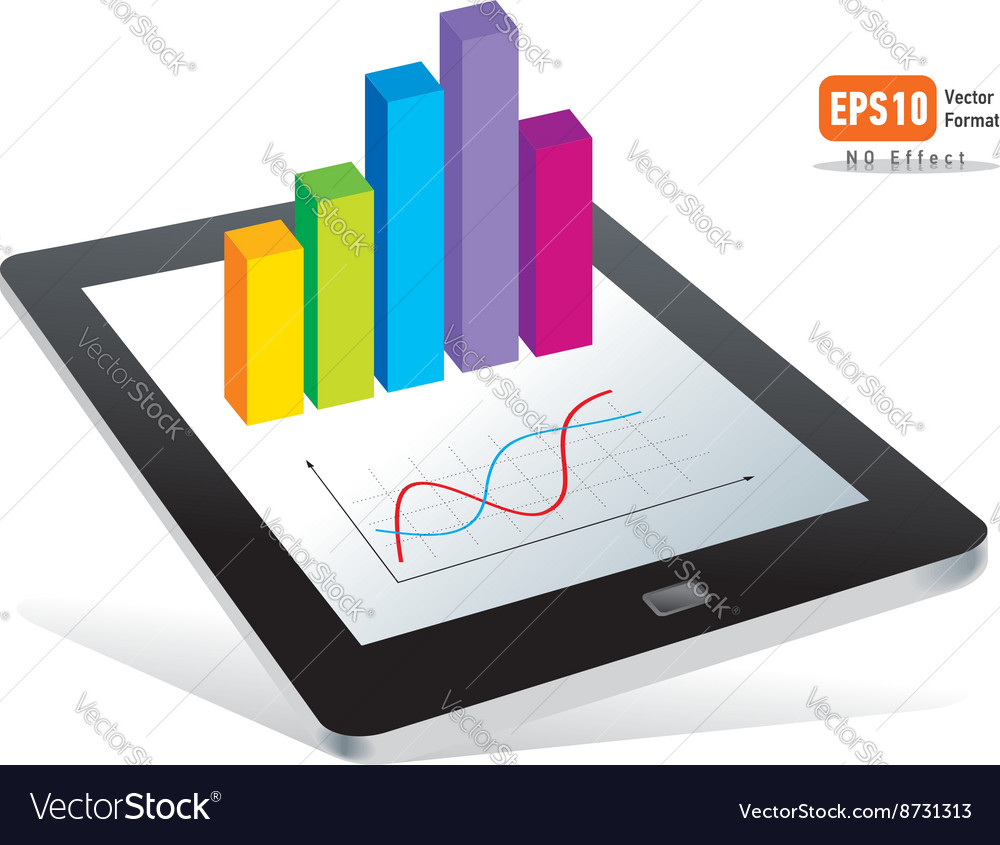Tablet pc touchpad display color diagram