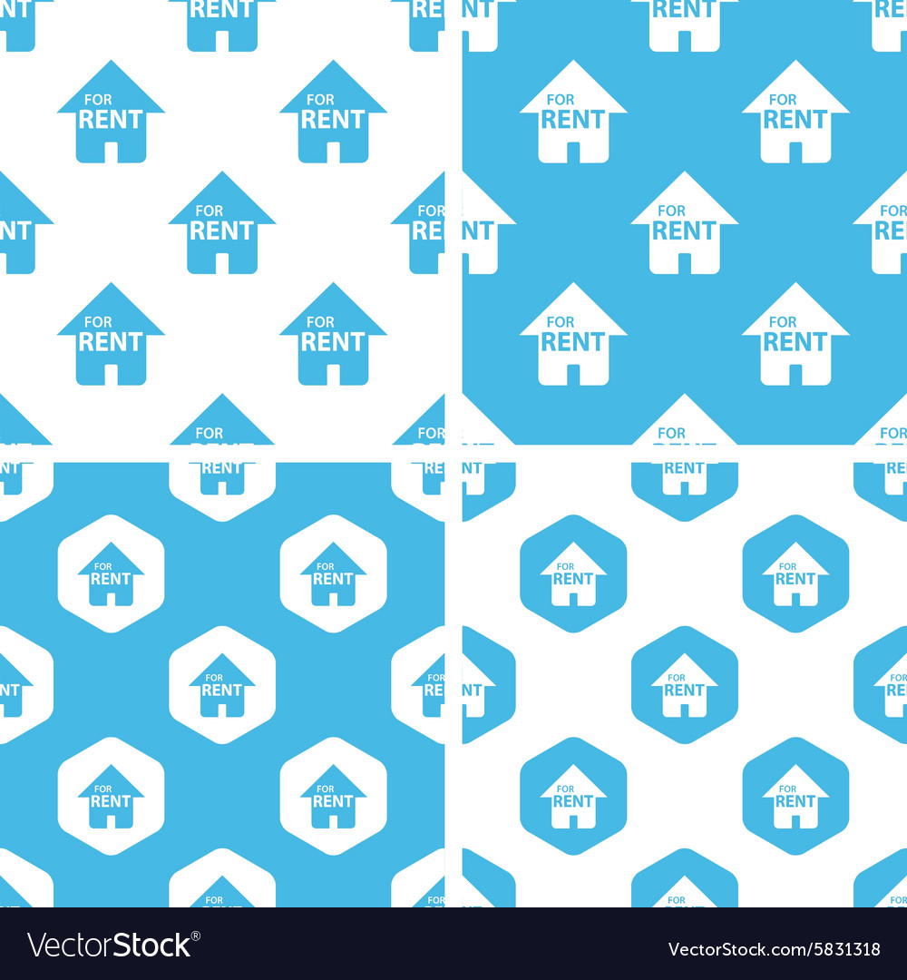 Rental house patterns set