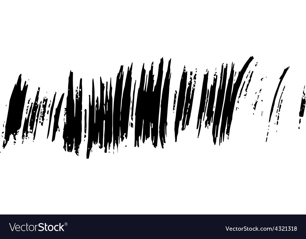 Stains left ink Blots for your design vector image