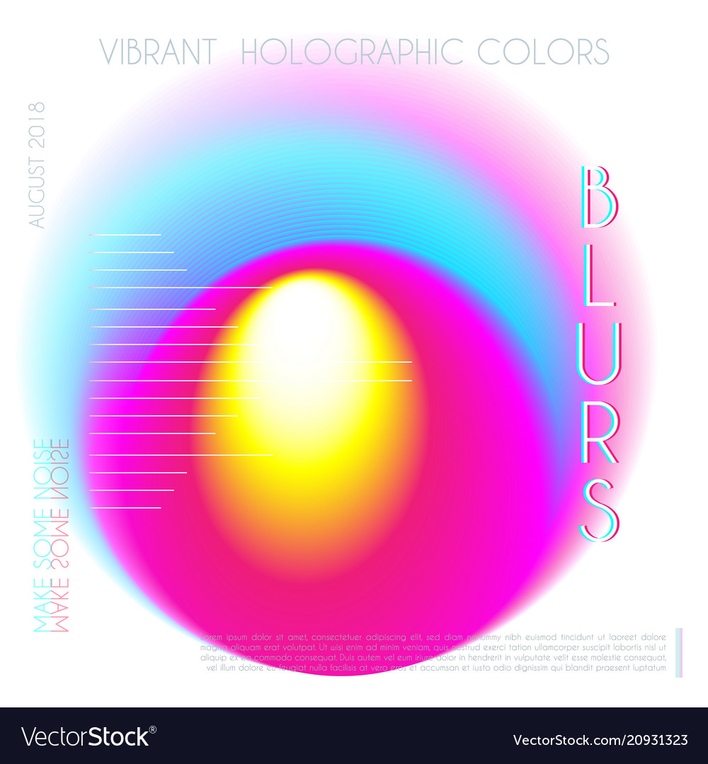 Abstract colorful blur gradient drop liquid