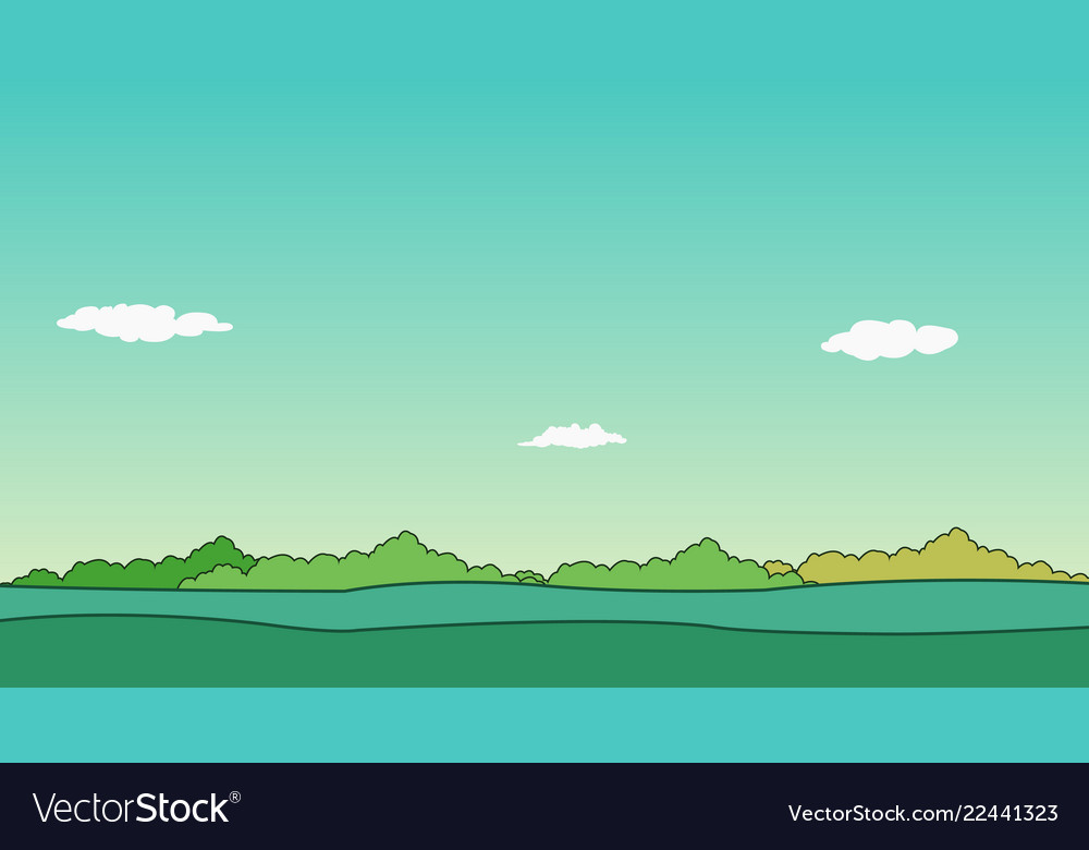 Nature landscape and sky background