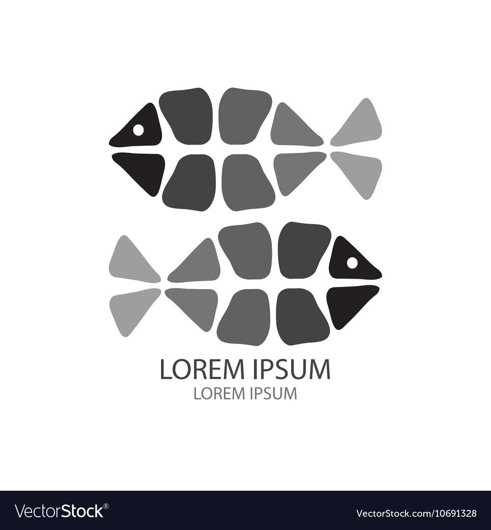 Fish Logo Template Royalty Free Vector Image Vectorstock