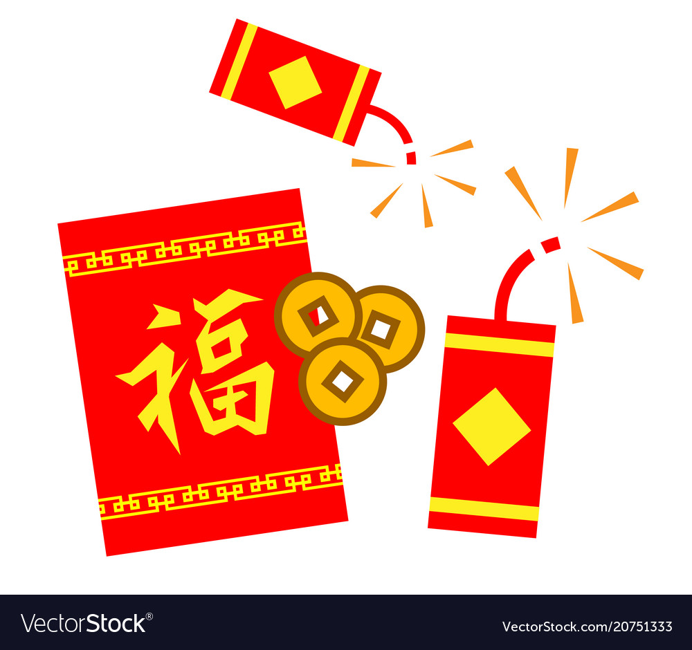 Chinese new year sign vector image