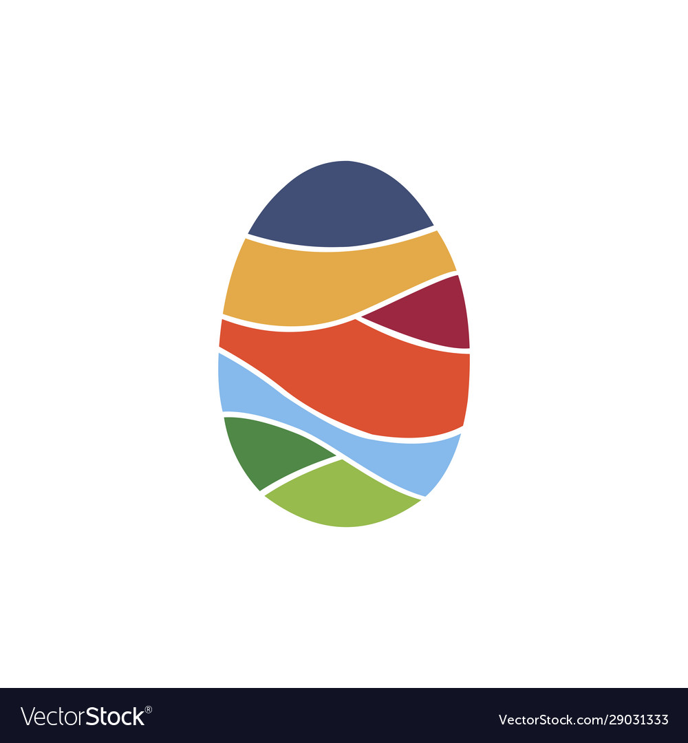 Egg colorful logo
