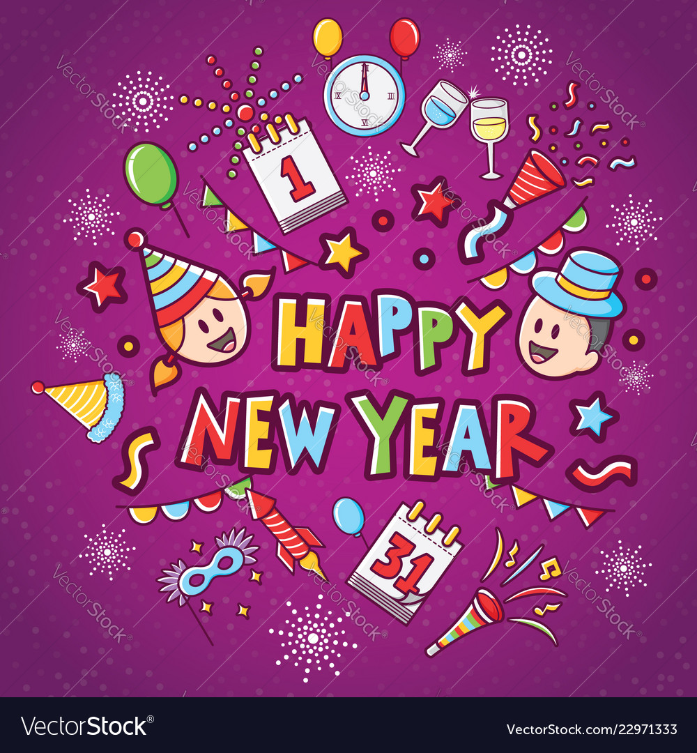 Happy New Year Icon 51