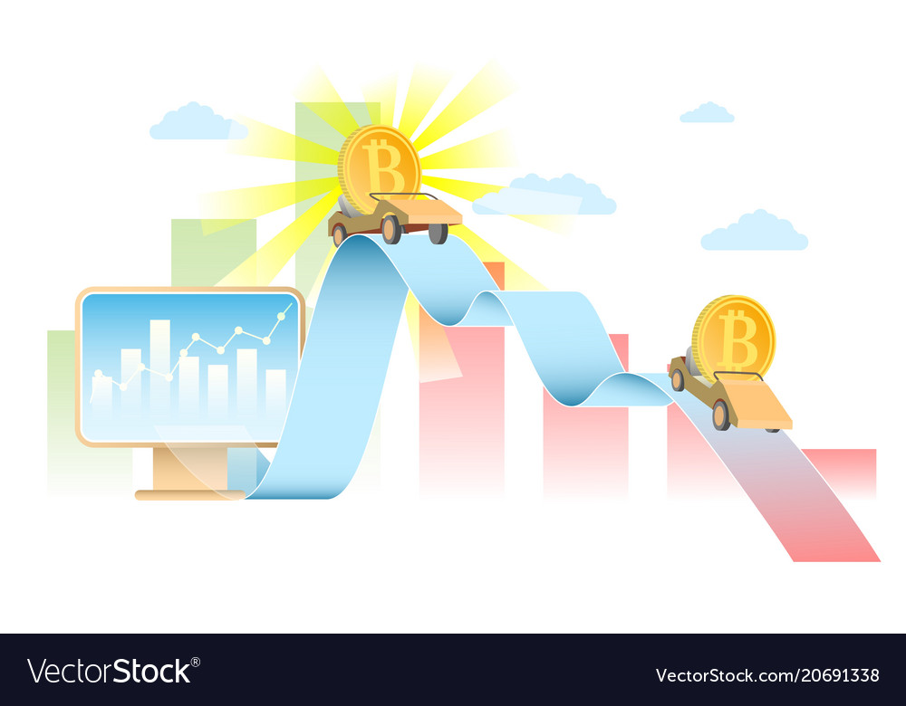 Bitcoin rate concept realistic