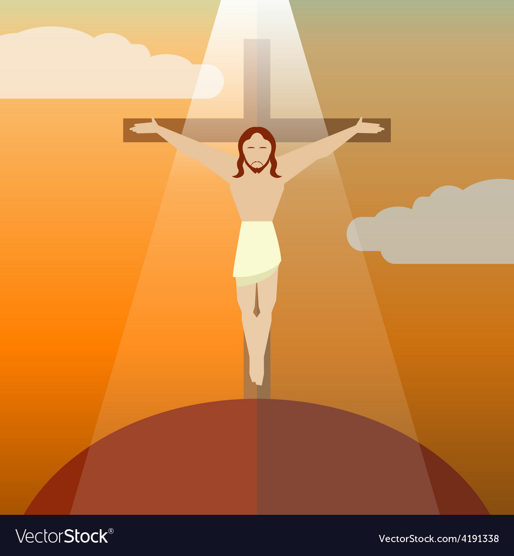 Flat icon Jesus3