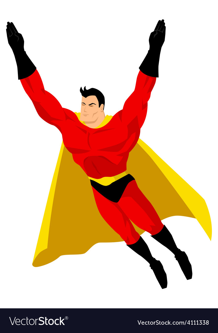 superhero royalty free vector image vectorstock rh vectorstock com superhero vector art superhero vector clipart
