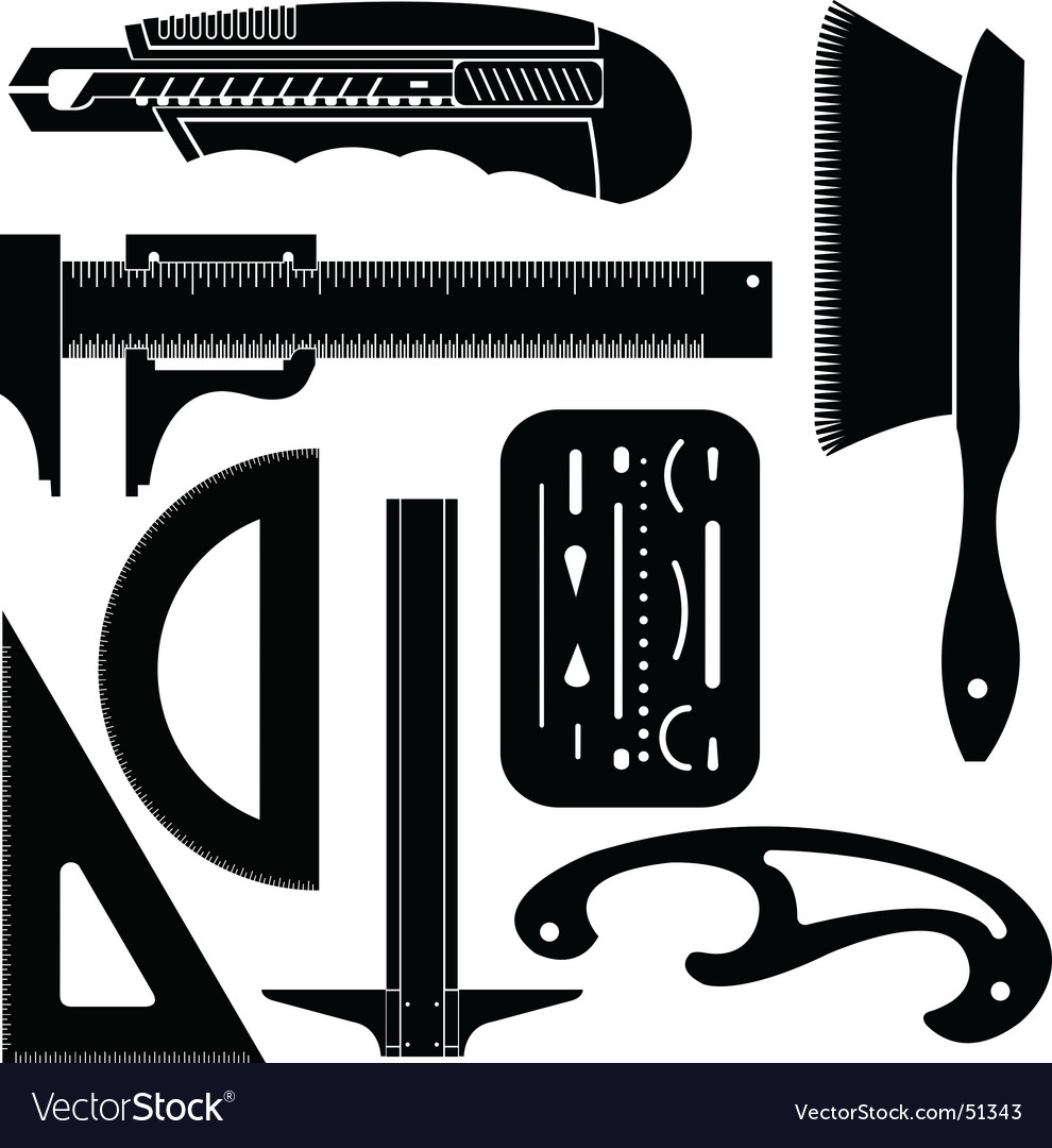Engineering tools vector image