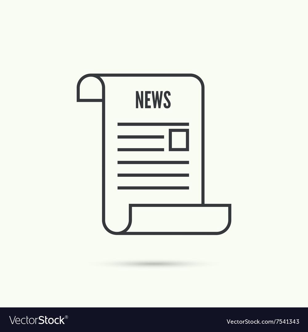 Icon newspaper
