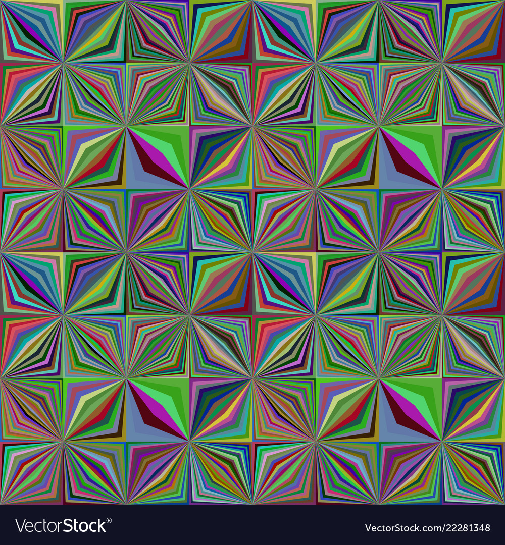Colorful geometric stripe pattern - tile mosaic