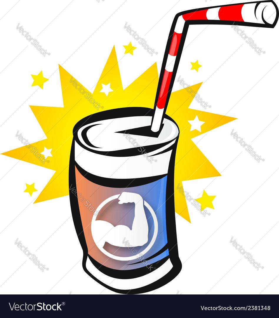 Energy Drink vector image