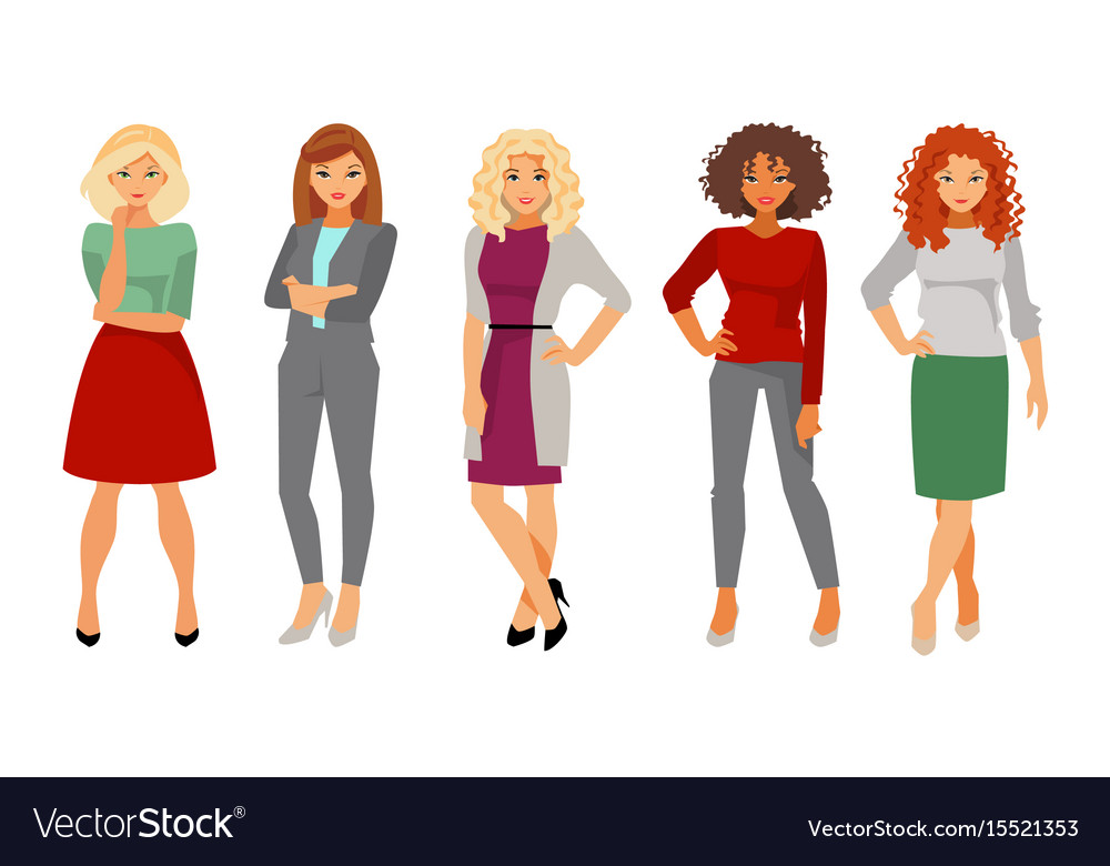 Office Clothes Royalty Free Vector Image