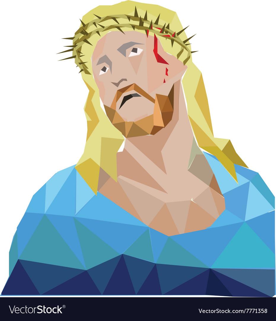 Jesus polygon style