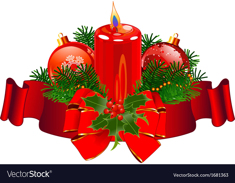 Christmas Candle design