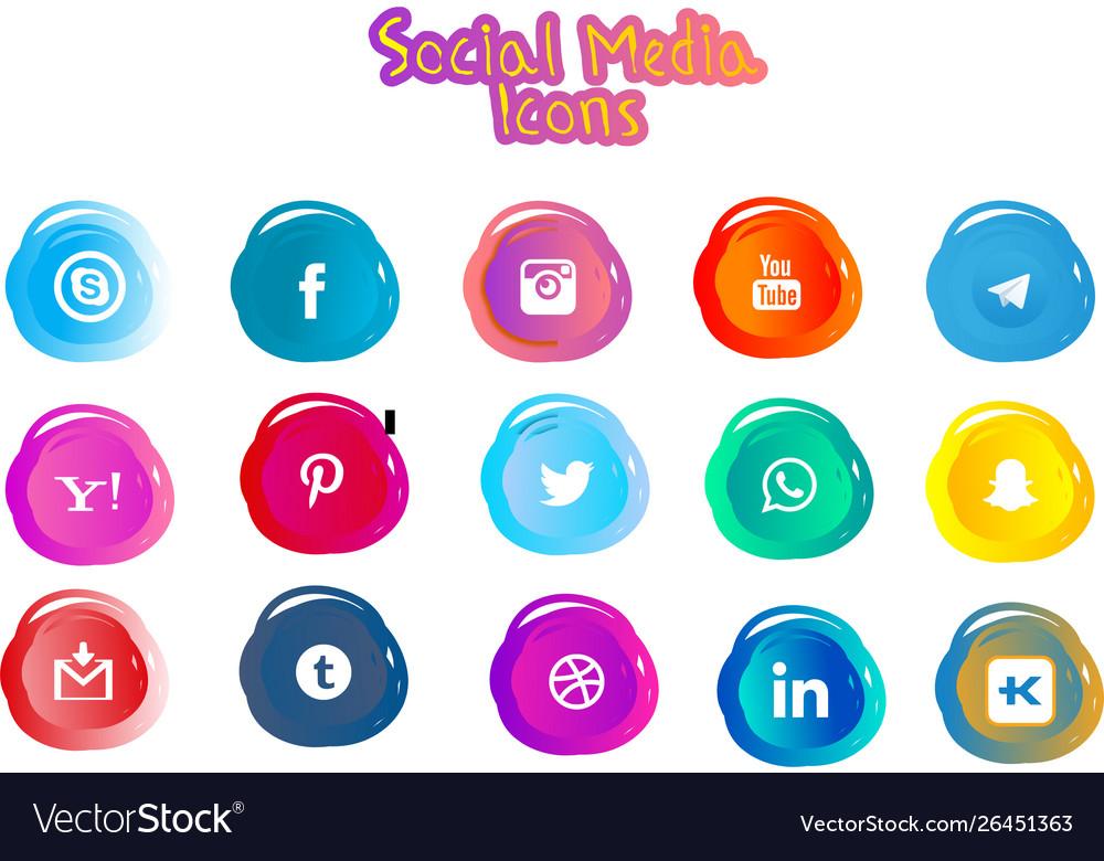 Sosial media icons