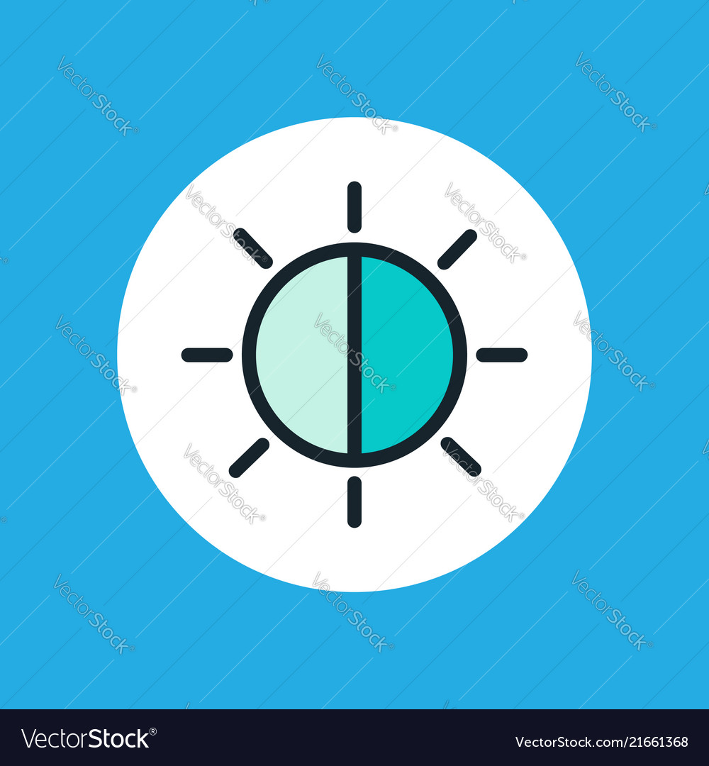 Brightness icon sign symbol