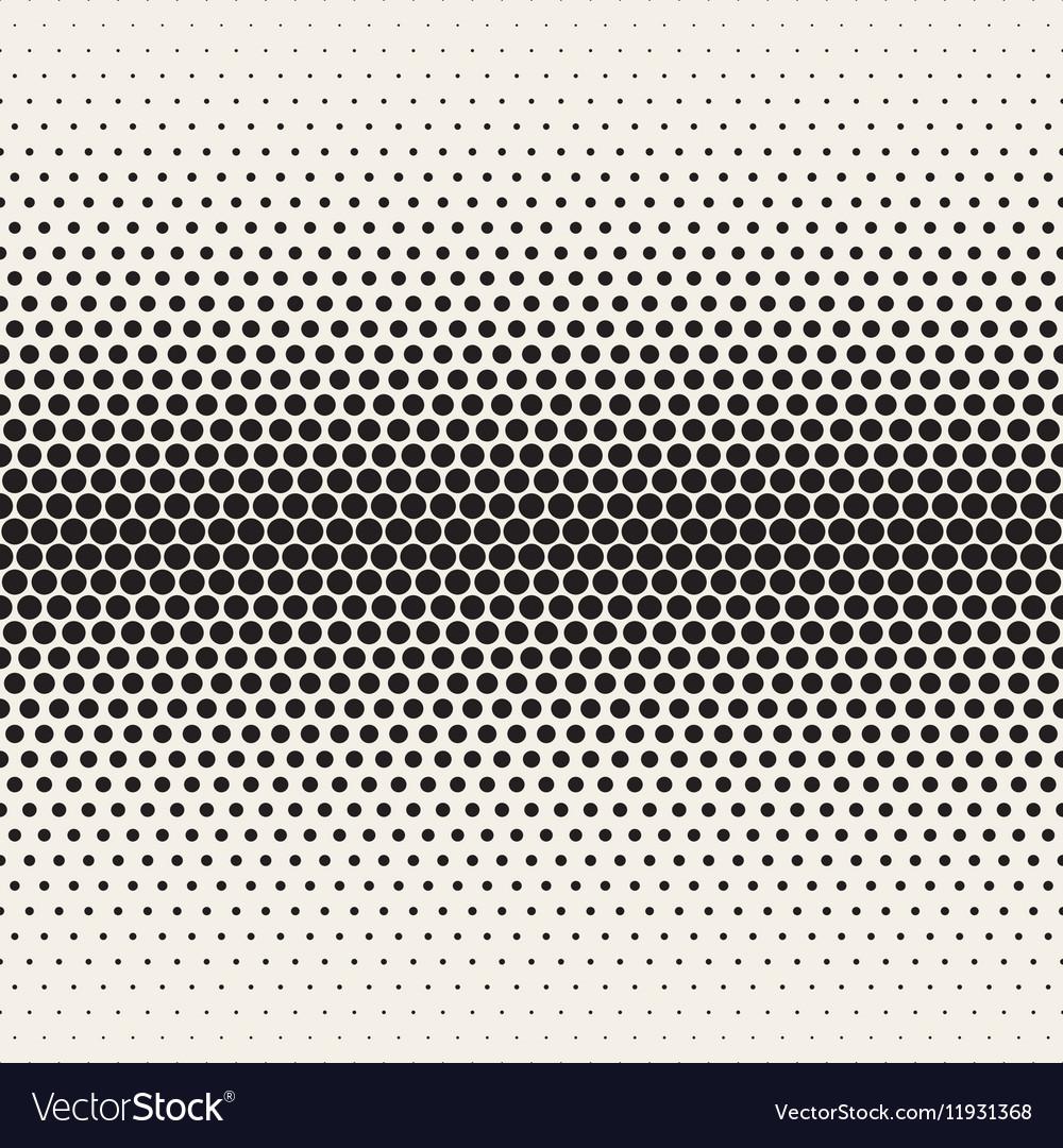 Seamless Black and White Halftone Gradient