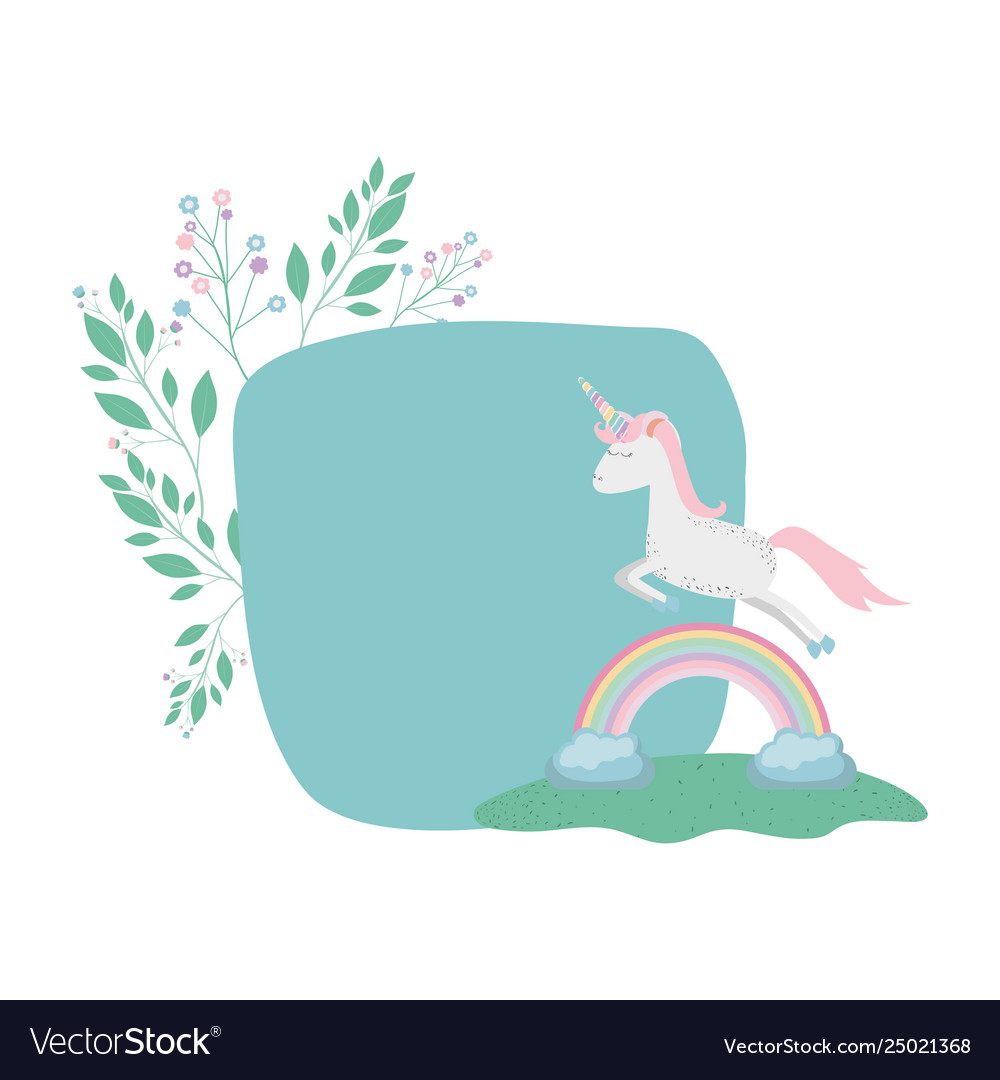Unicorn Rainbow Blank Tree-Free