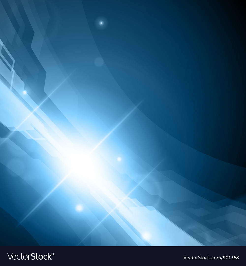 Virtual tecnology space background vector image