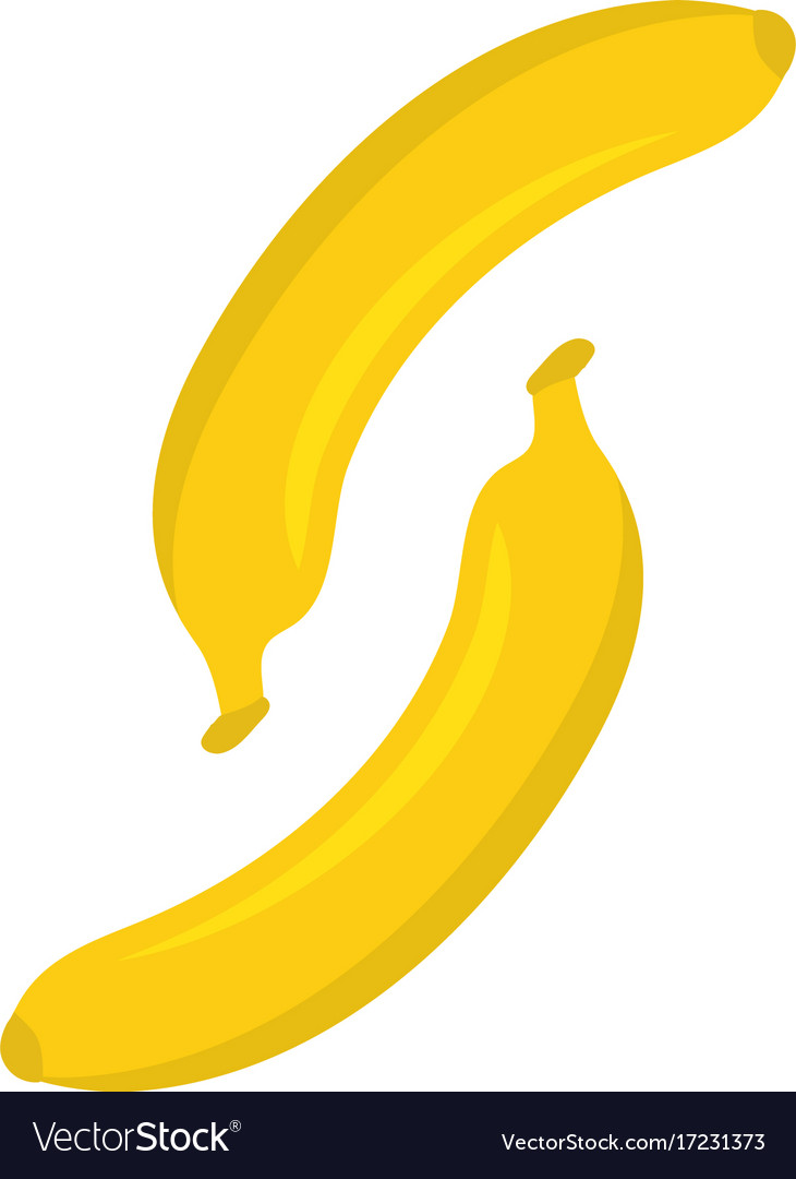 banana logo template icon design royalty free vector image